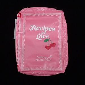LeSportsac Recipes Pink Pouch - NWT